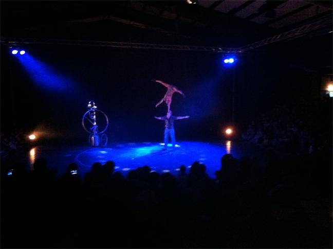 verzorging complete theatertechniek nederlands acrobatiek festival door de fantasten